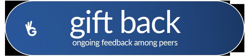 Guudjob GiftBack | ONGOING FEEDBACK AMONG PEERS